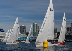 J/105 Masters sailing San Diego, CA