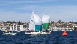J/22 sailing San Diego