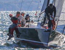 J/88s sailing on Long Island Sound