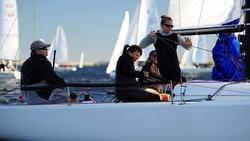 J/70 sailing Charleston