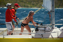 IC24 crews sailing St Thomas