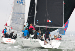 J/97 sailing Hamble winter series
