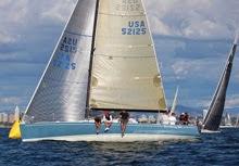 J/125 Stark Raving Mad sailing Hot Rum off San Diego