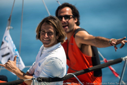 Italian j70 sailors