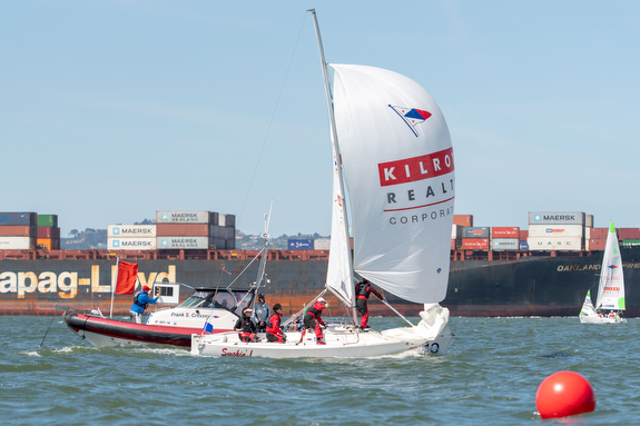 J/22 sailing on San Francisco Bay