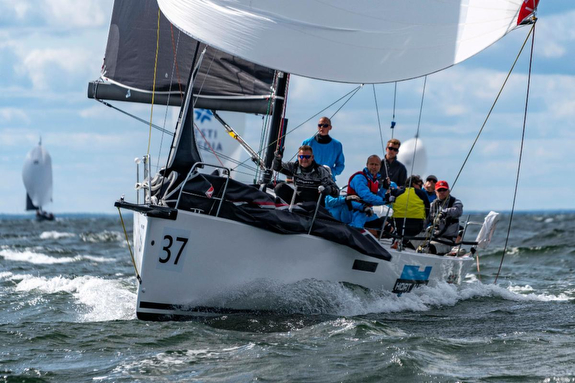 J/112E Matilda 4 at ORC Europeans