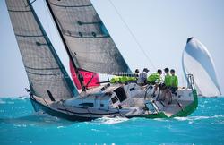 J/111 sailing Key West