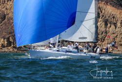 J/105 sailing Hot Rum series- San Diego, CA