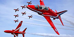 RAF Red Arrows acrobatic team
