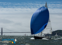 J/105 sailing San Francisco SSS Race