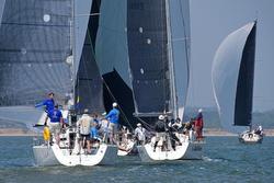 J/109s sailing RORC Vice Admirals Cup