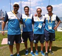J/24 Argentina- Pereira Pan Am Games gold
