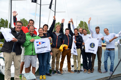 Swiss J/70 Sailing League- podium winners