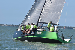 J/111 Wicked 2.0 sailing upwind