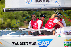 J/70 KSSS sailing team in Swedish league