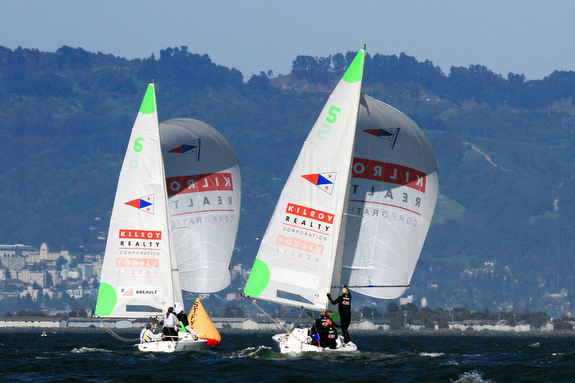 J/22s match race sailing Nations Cup San Francisco