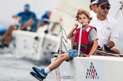 J/80 youth- sailing World Championship in Spain