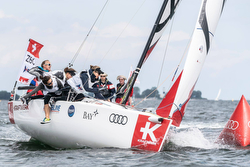 J/70 Women's SAILING Champions League- rounding