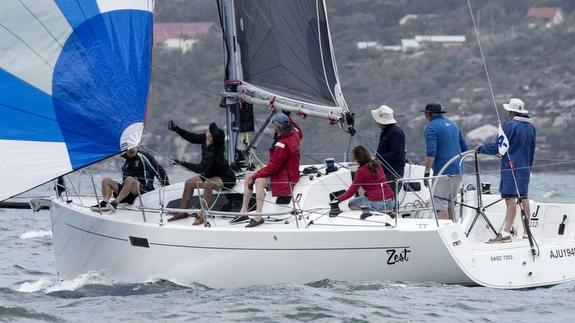 J/112E sailing off Sydney, Australia