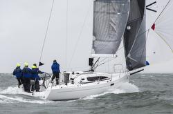 J/112E sailing SPI Ouest France