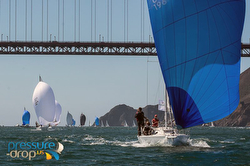 J/105s sailing Rolex Big Boat Series