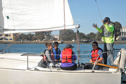Treasure Island Sailing Center- J/24 youth/ kids sailors