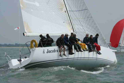 J/122 sailing Royal Yacht Squadron Bicentenary regatta