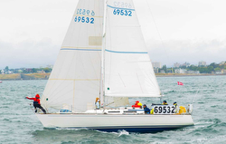 J/35 sailing Swiftsure Race