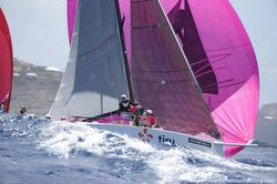 J/109 sailing Voiles de St Barth