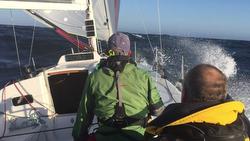 J/111 BLUR sailing off Sweden