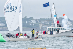 J/24 Sea Bags winning Helly Hansen Marblehead NOOD