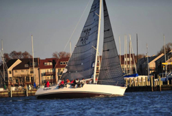 J/120 sailing Edgartown