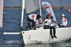 Chinese women sailors- World University Sailing Championship