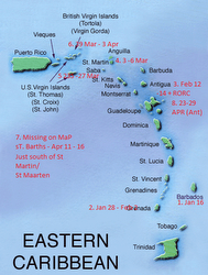 J/105 Caribbean events