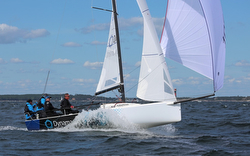 J/70 Dynamant Racing sailing off Sweden