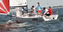 J/70s sailing Easter Regatta