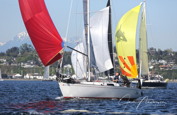 J/29 sailing Race to Straits- Seattle to Port Townsend