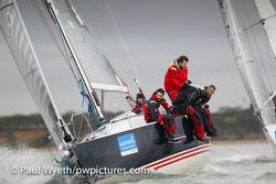 J/109 sailing Hamble, England