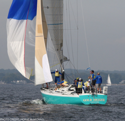 Awesome Storm Trysail College Big Boat Regatta!