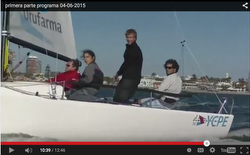 J/70s sailing off Punta del Este, Uruguary