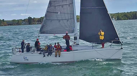 J/109 sailing Dobson Cup at Apostle Islands, WI