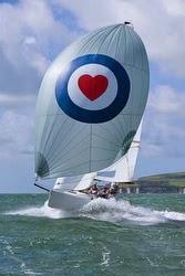 J/70 sailing Poole Regatta