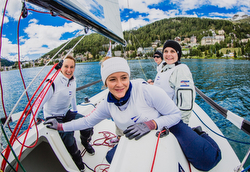 Swiss women J/70 Sailing League team