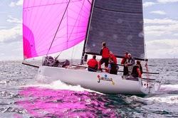 J88 sailing fast downwind