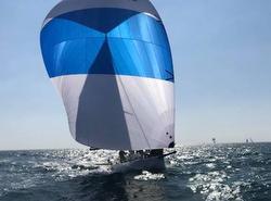 J/125 sailing Bahia de Banderas, Mexico
