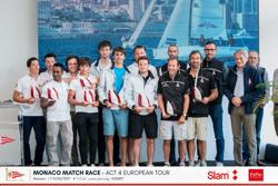 J/70 Monaco Match race winners