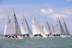 J/80 UK Nationals sailing off start