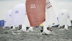 J/22s sailing Annapolis NOOD