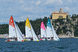 J/70s sailing Italian league- Trieste, Italy