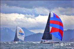J/145 Double Take sailing Seattle's Round County Regatta